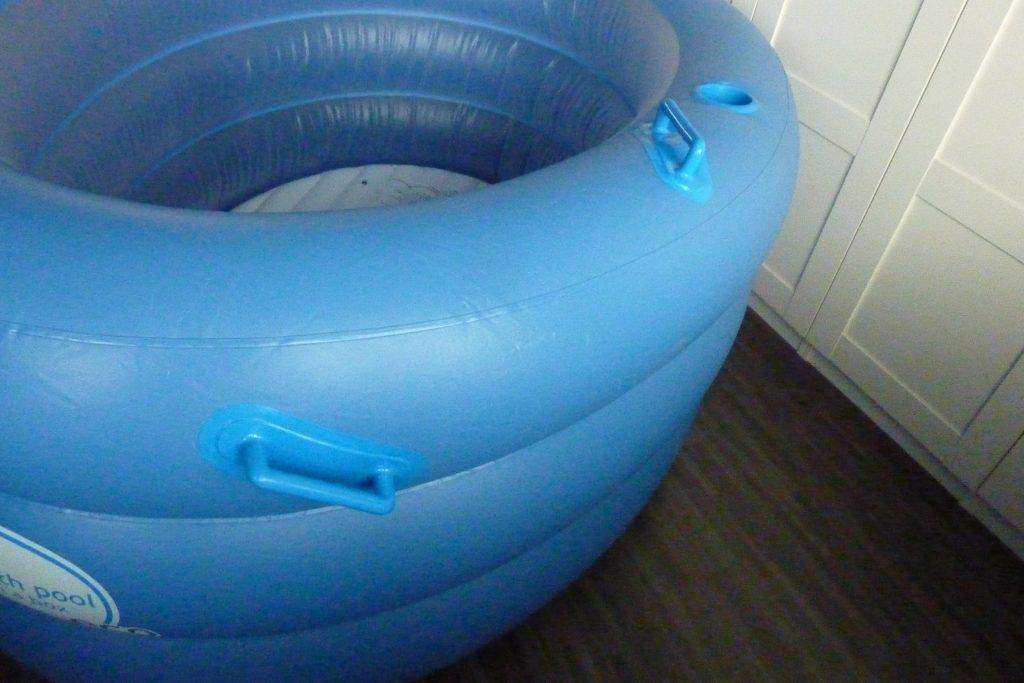 Birth Pool in a Box bekerhouder, handvat, zitje 4