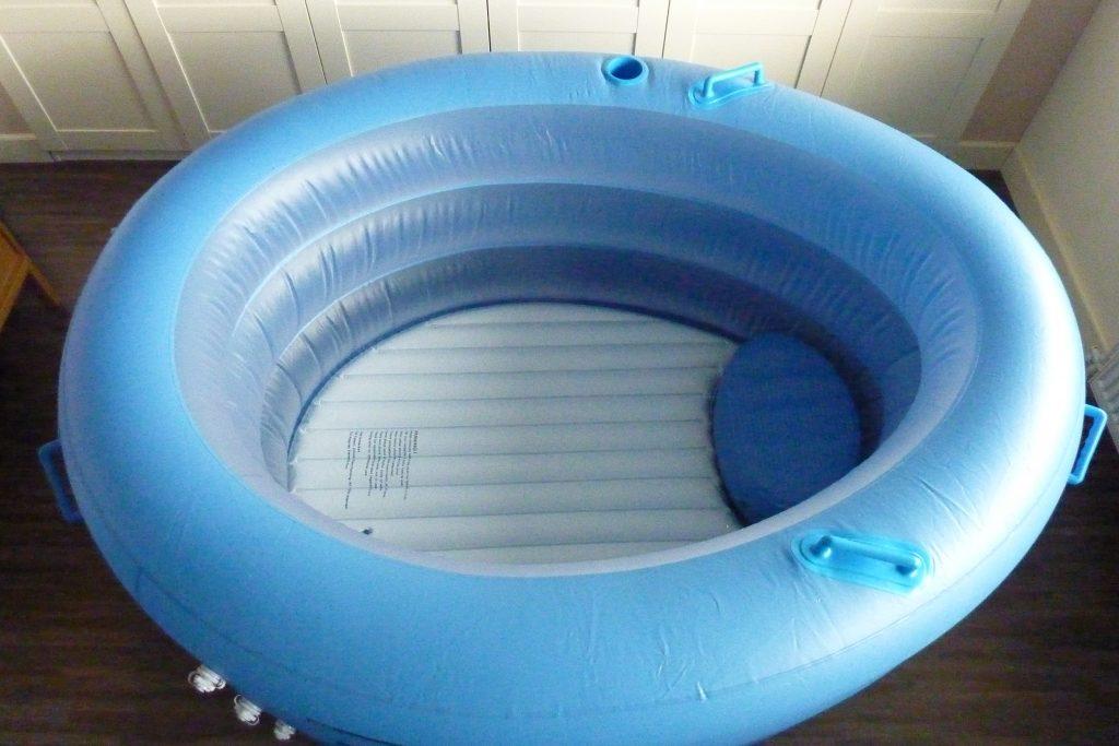 Birth Pool in a Box bovenaanzicht