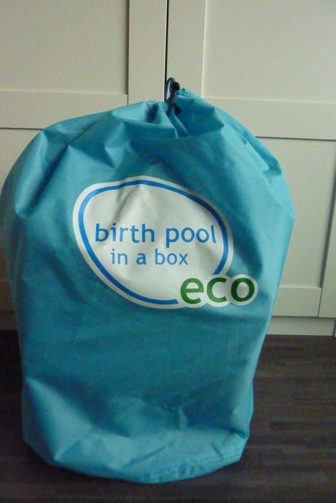 Birth Pool in a Box tas